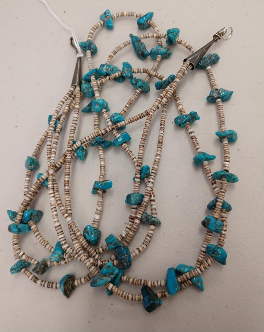 3 Strand Navajo Necklace - 5
