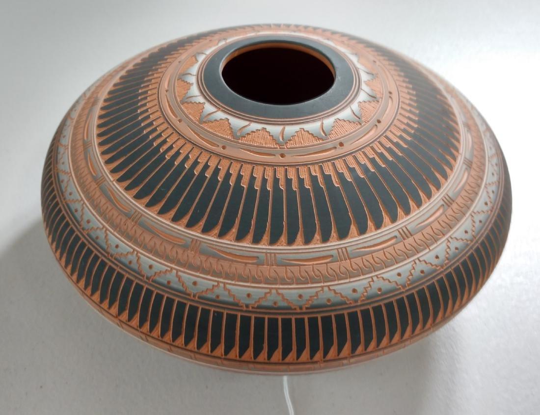 Navajo Carved Pot