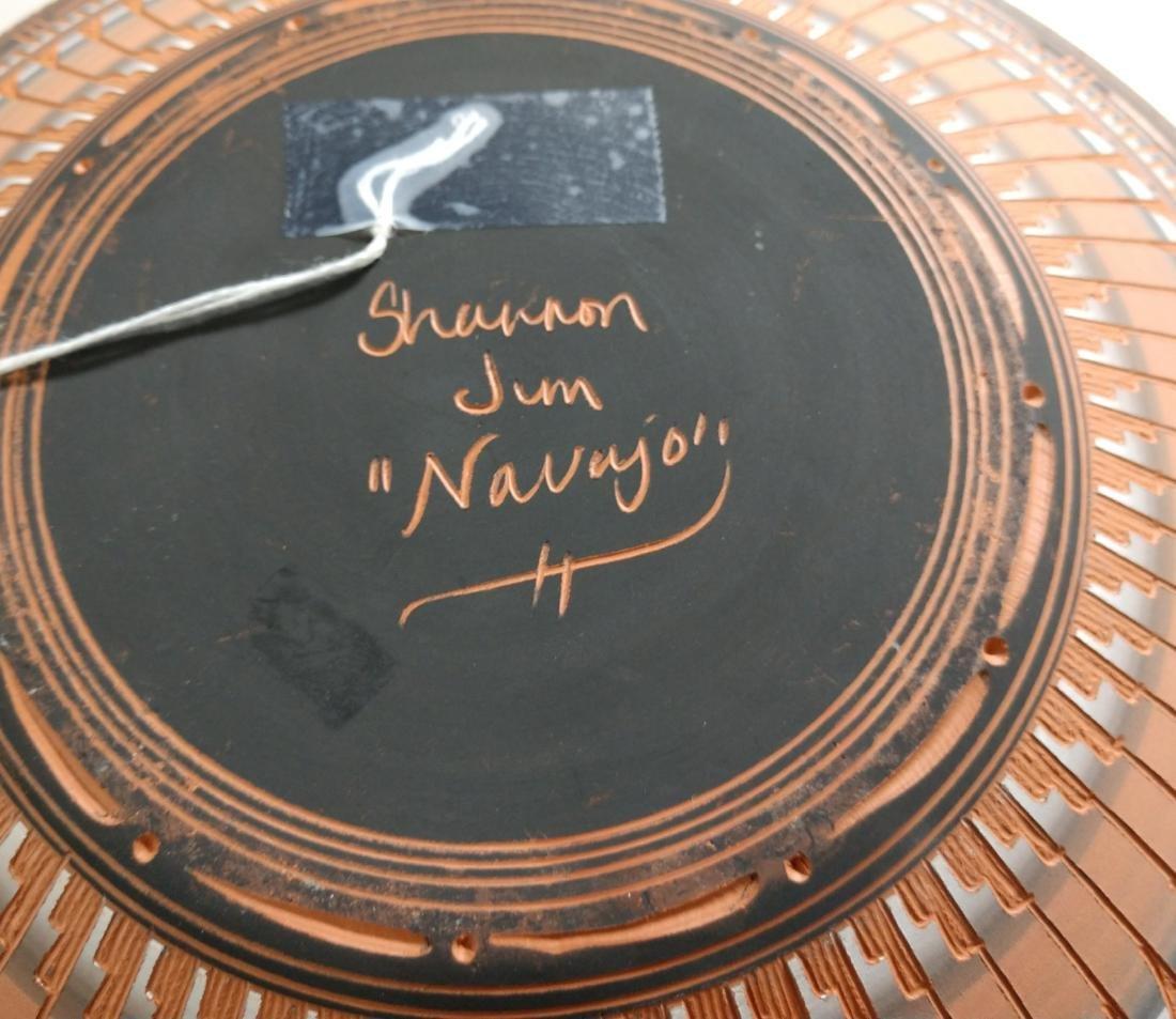 Navajo Carved Pot - 5