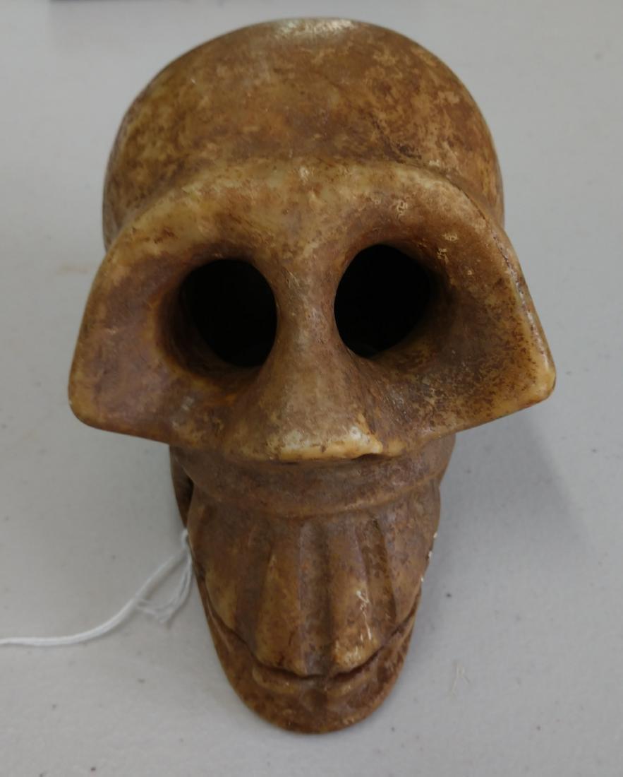 Stone Skull Carving - 2