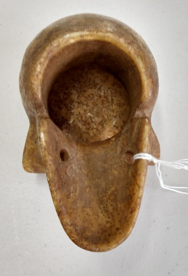 Stone Skull Carving - 6