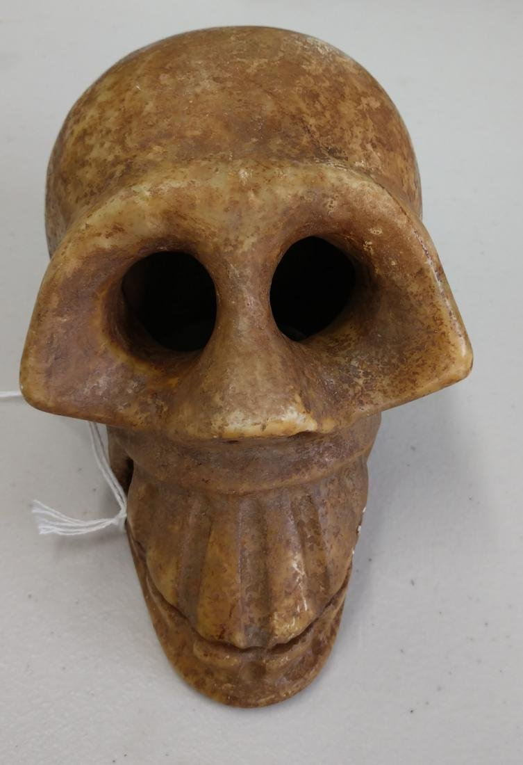 Stone Skull Carving - 7