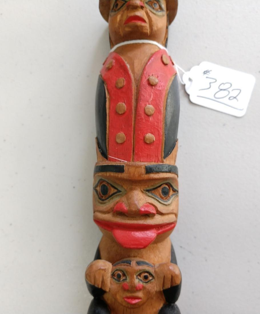 Wood Totem Pole - 3