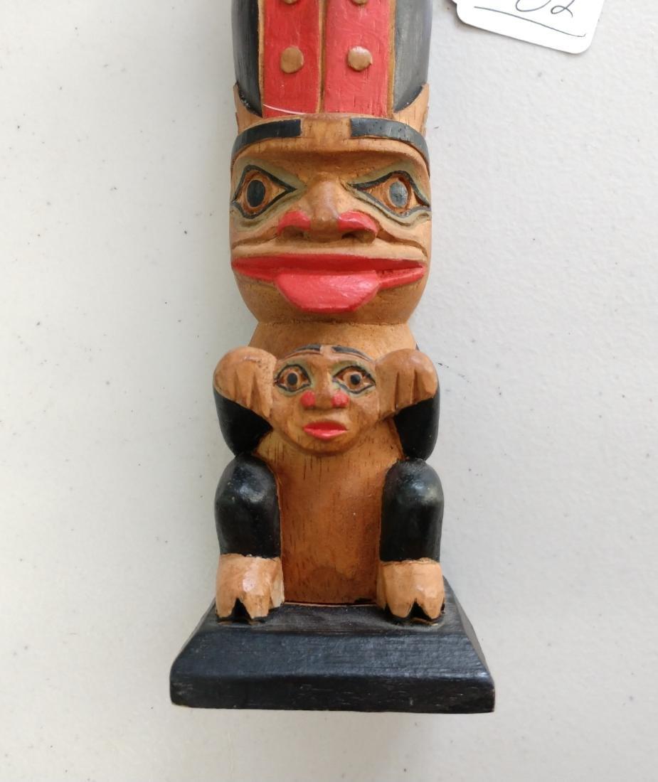Wood Totem Pole - 4