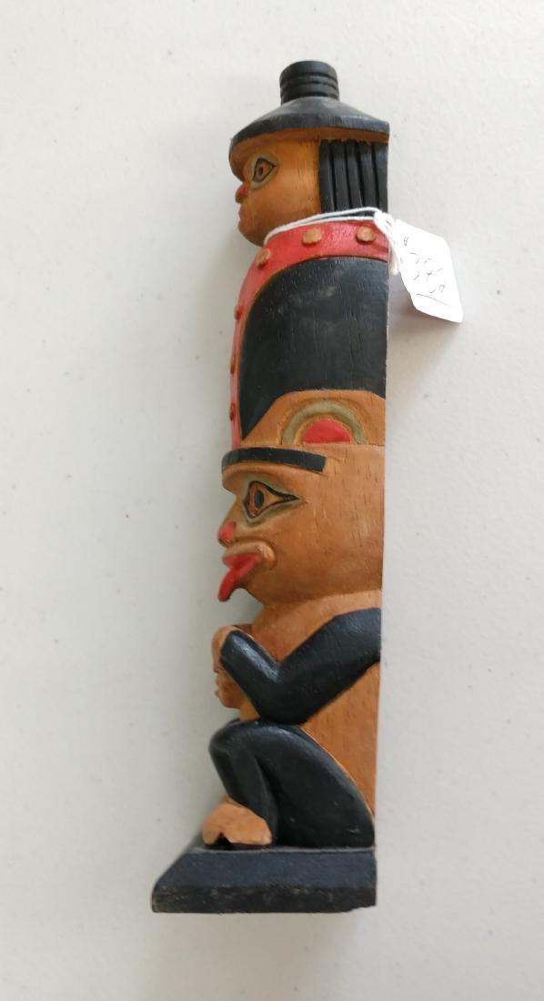 Wood Totem Pole - 5