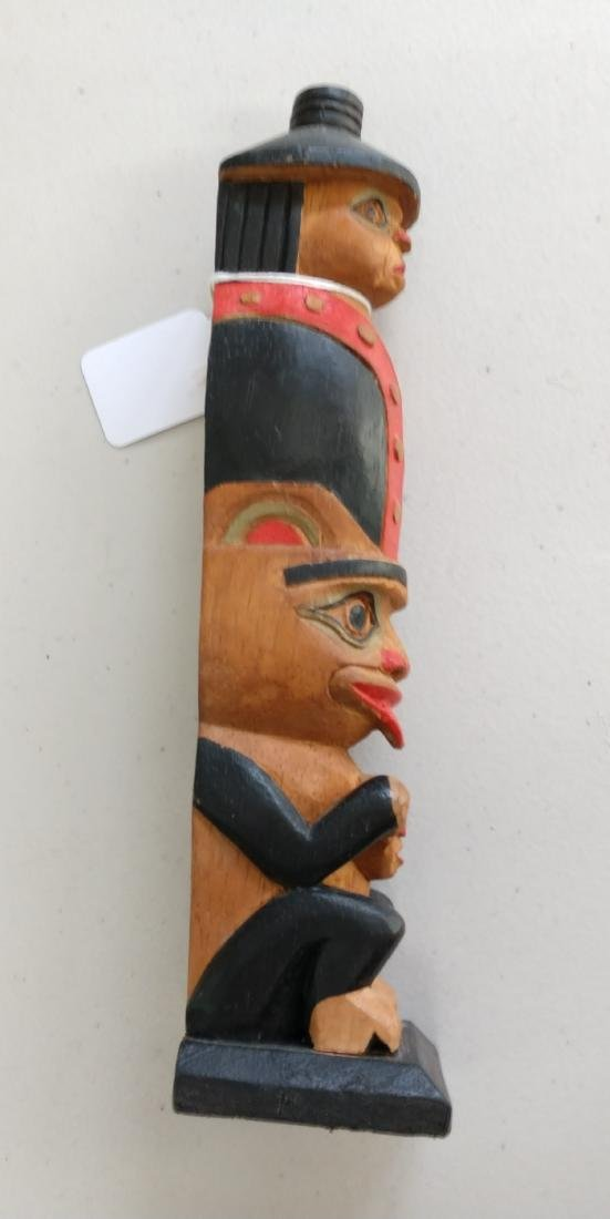 Wood Totem Pole - 7