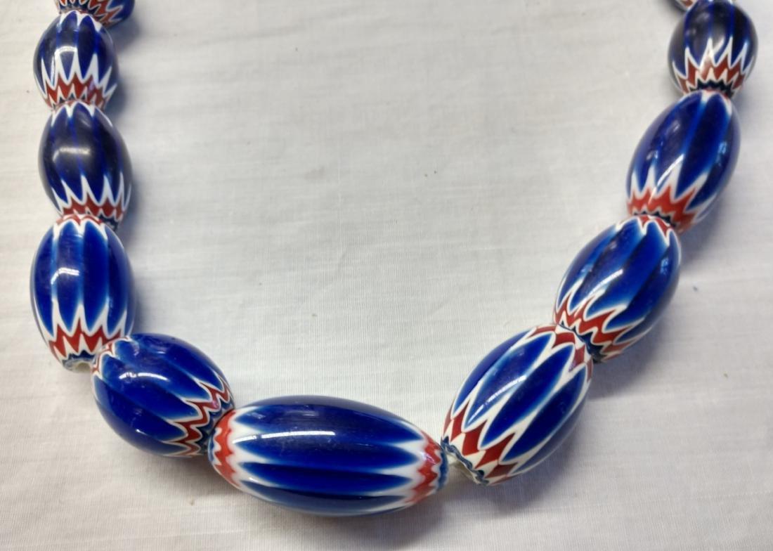 Rare Chevron Beads - 2