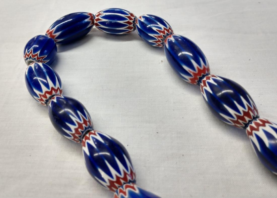Rare Chevron Beads - 4