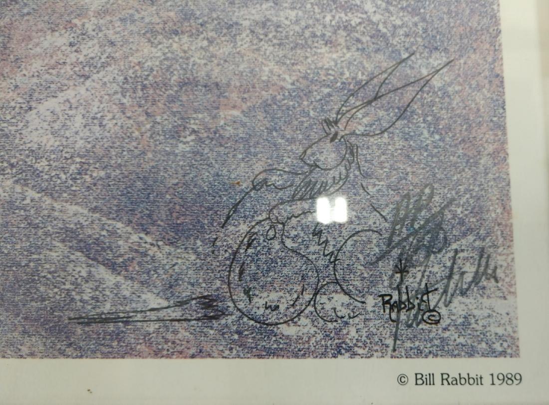 Signed Print by Bill Rabbit - 3