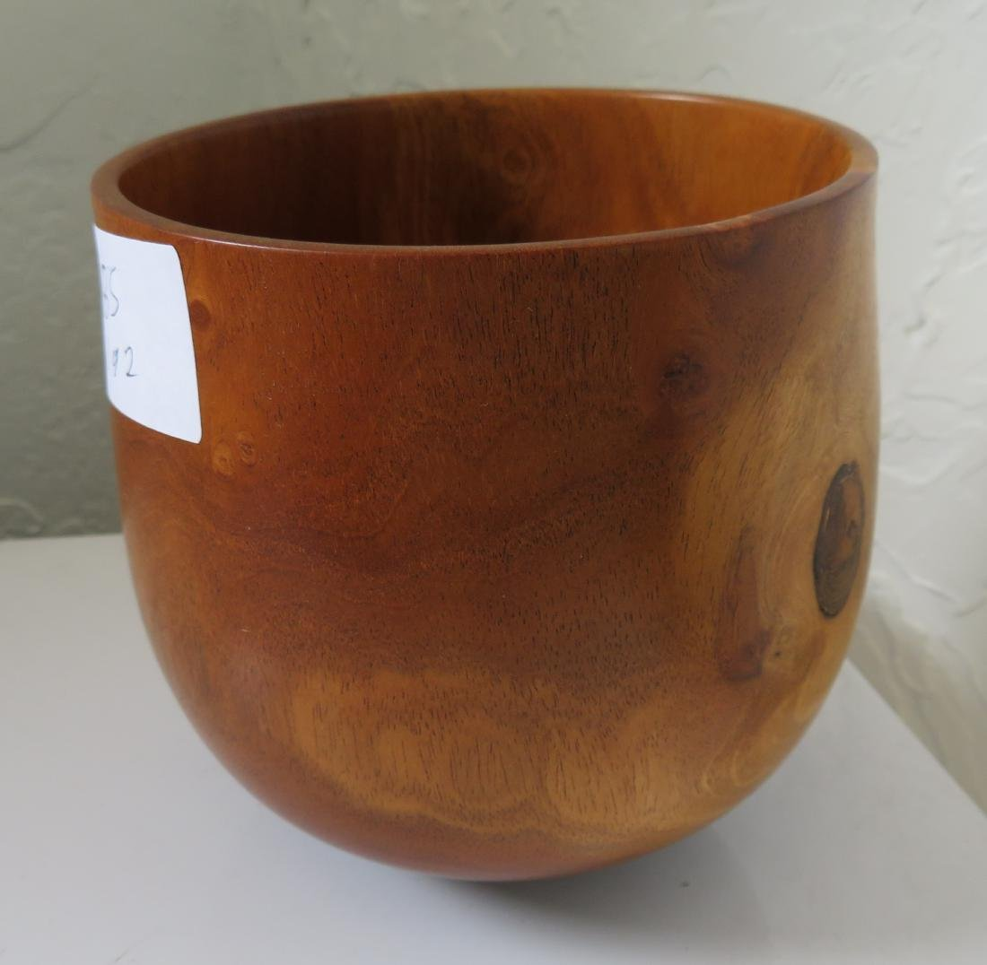 2 Hawaiian Wood Bowls - 2