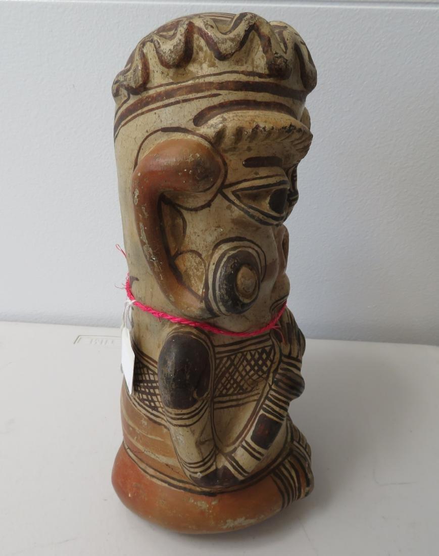 Large Pre-Columbian Figure - 10
