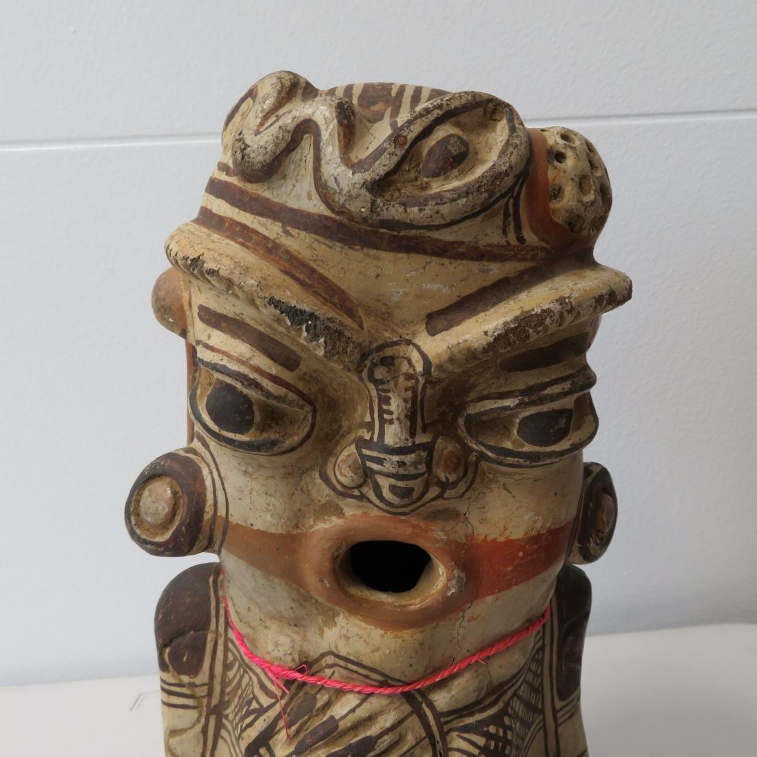 Large Pre-Columbian Figure - 2