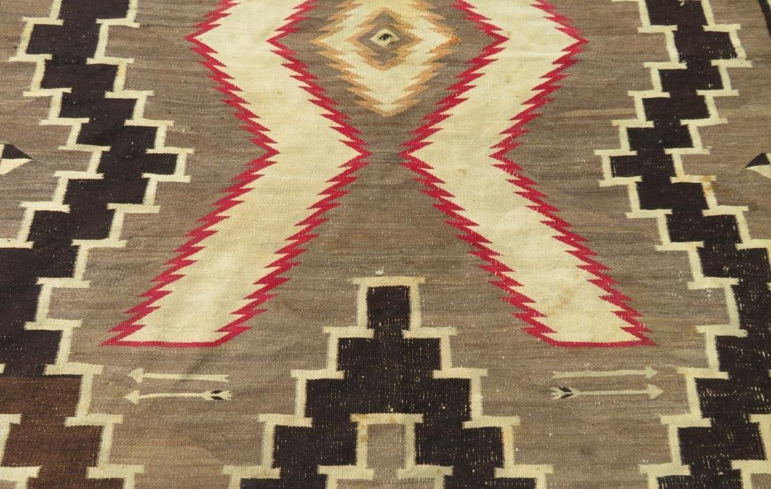 Large Navajo Rug - 4