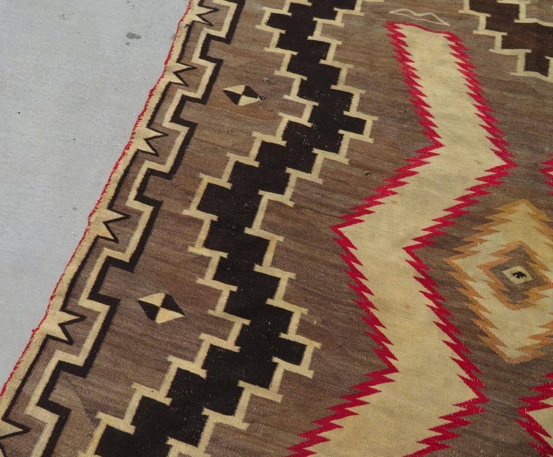 Large Navajo Rug - 5