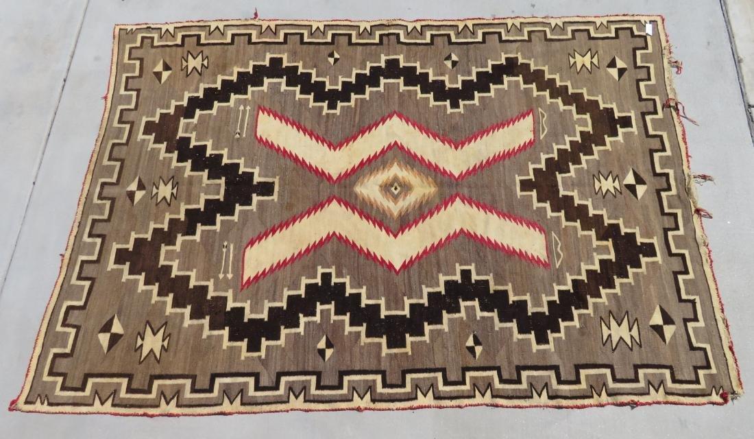 Large Navajo Rug - 9