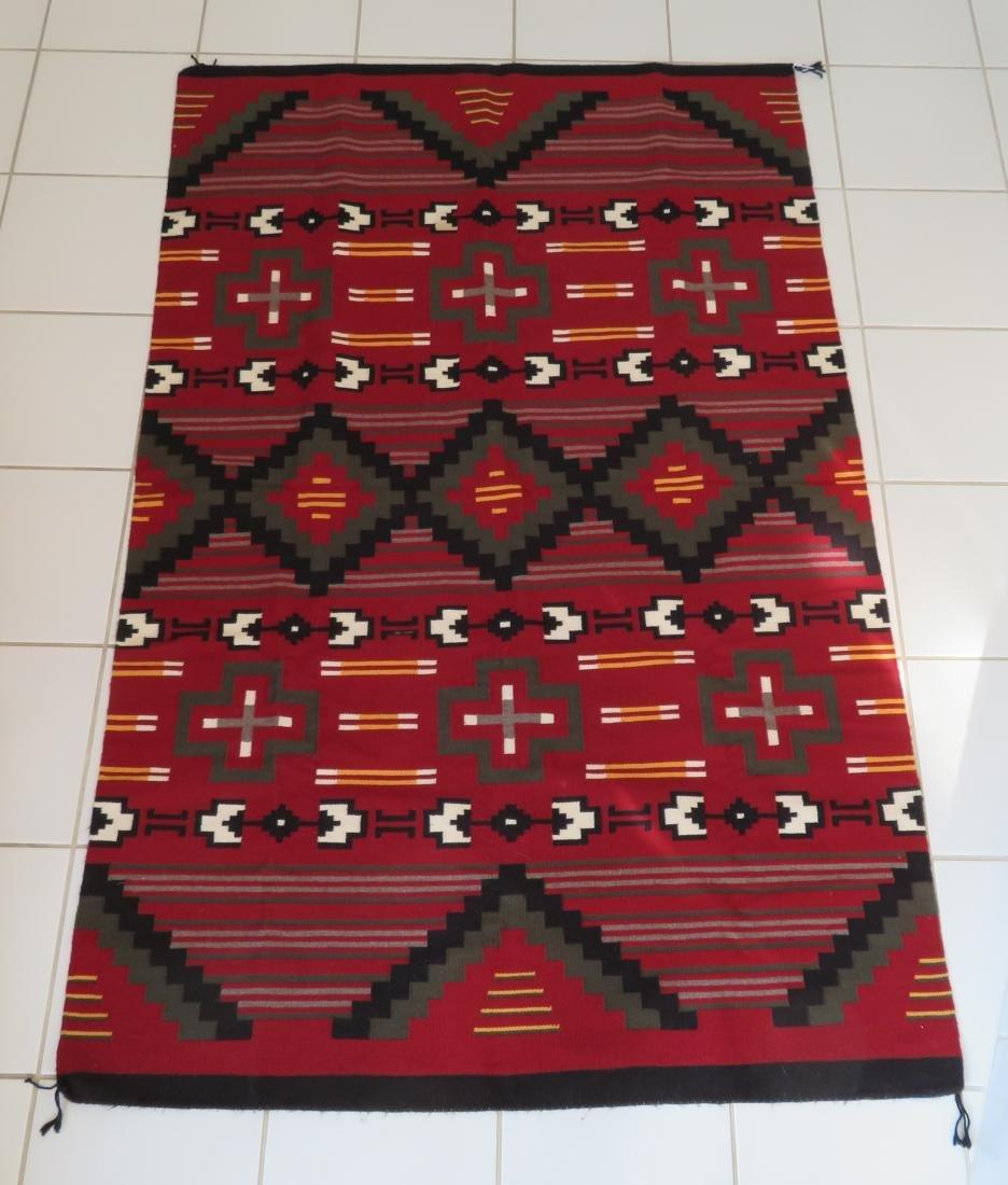 Navajo Ganado Weaving - 10