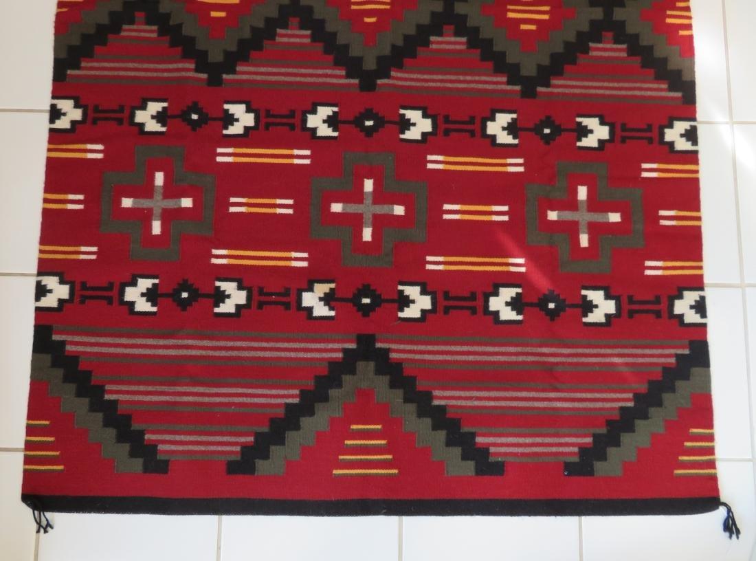 Navajo Ganado Weaving - 2