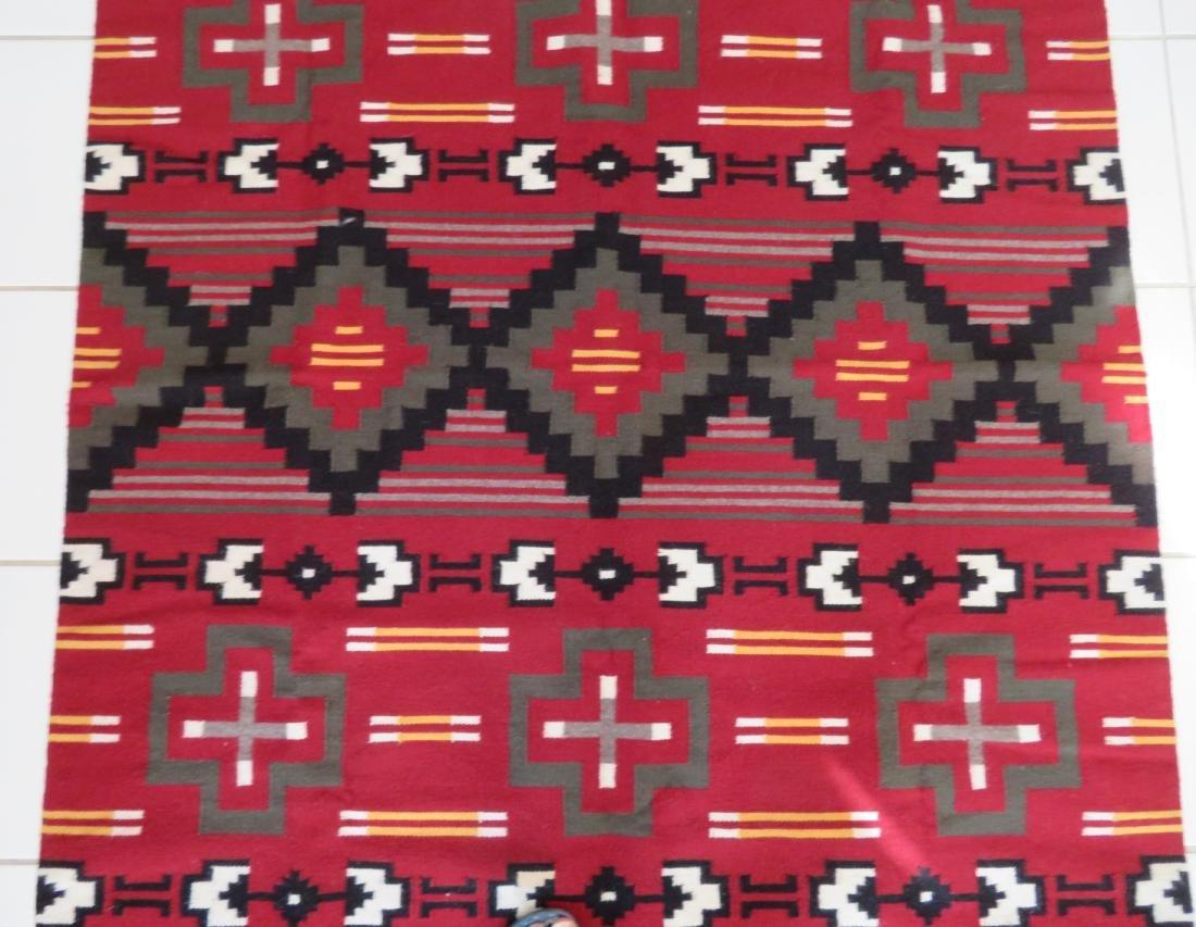 Navajo Ganado Weaving - 3