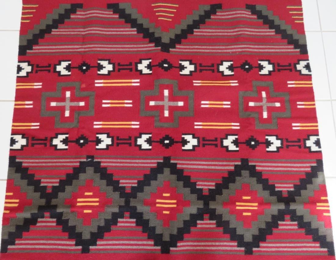 Navajo Ganado Weaving - 4