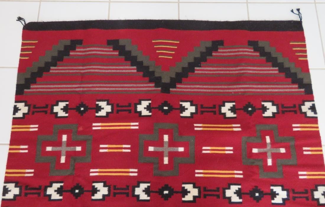 Navajo Ganado Weaving - 5