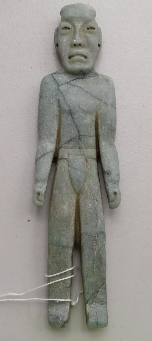 Jade Olmec Human Figure