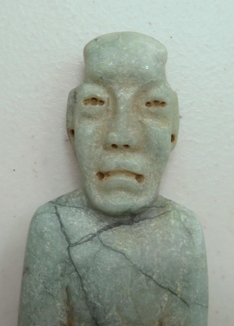 Jade Olmec Human Figure - 2