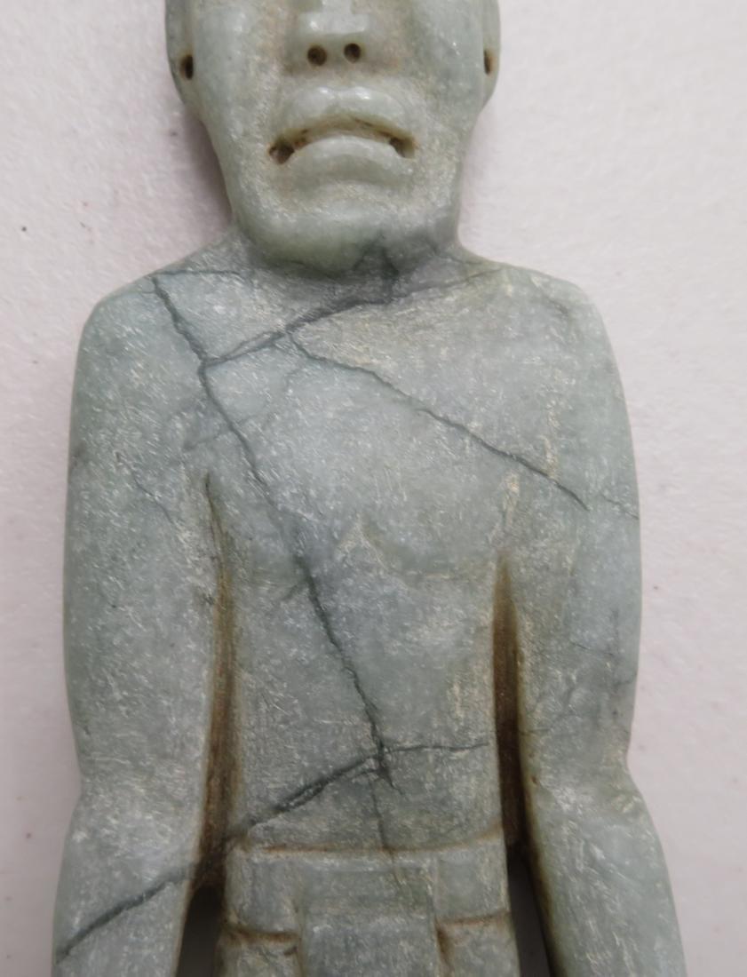 Jade Olmec Human Figure - 5