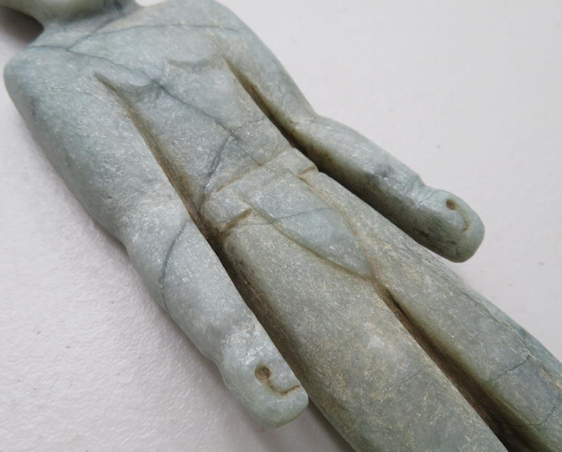 Jade Olmec Human Figure - 6