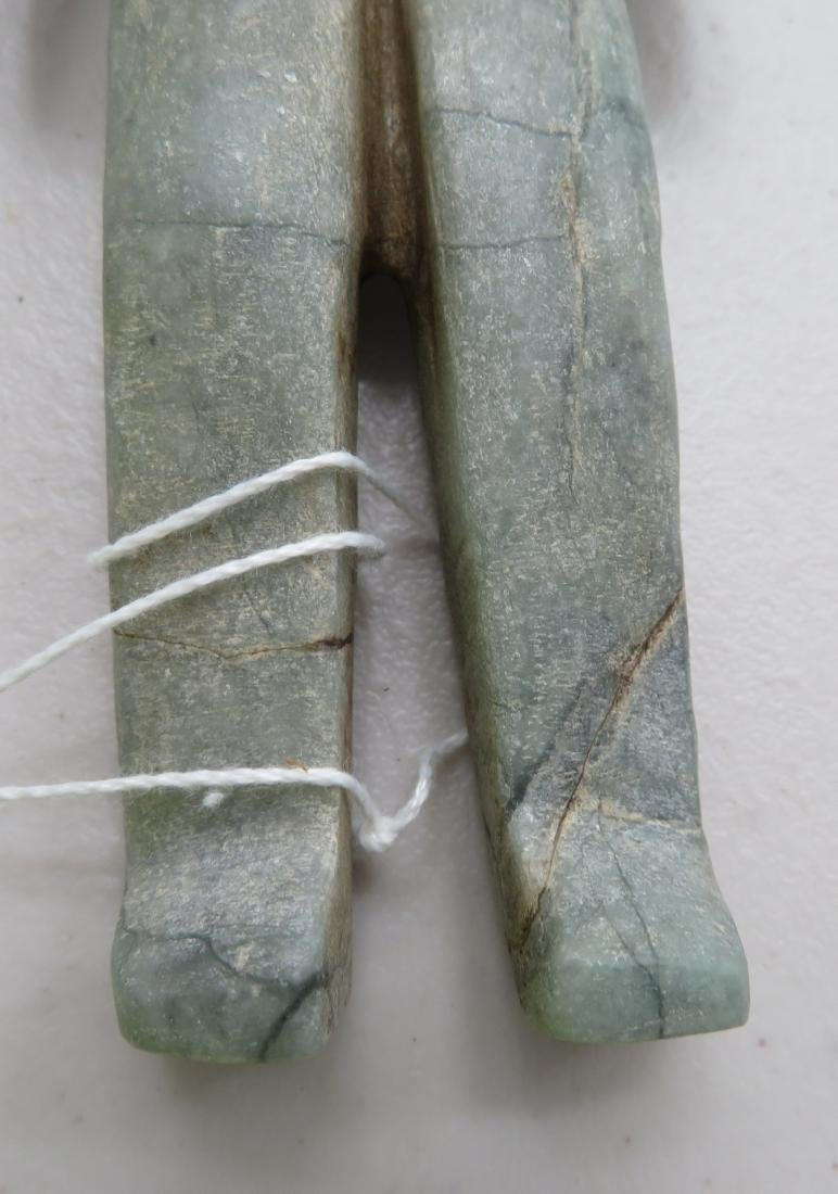 Jade Olmec Human Figure - 7