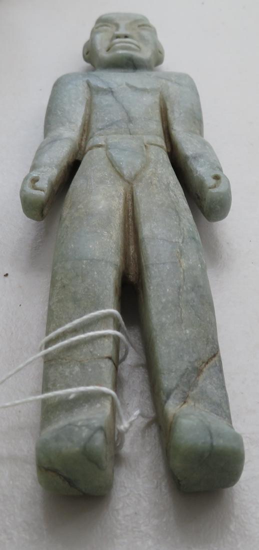 Jade Olmec Human Figure - 8