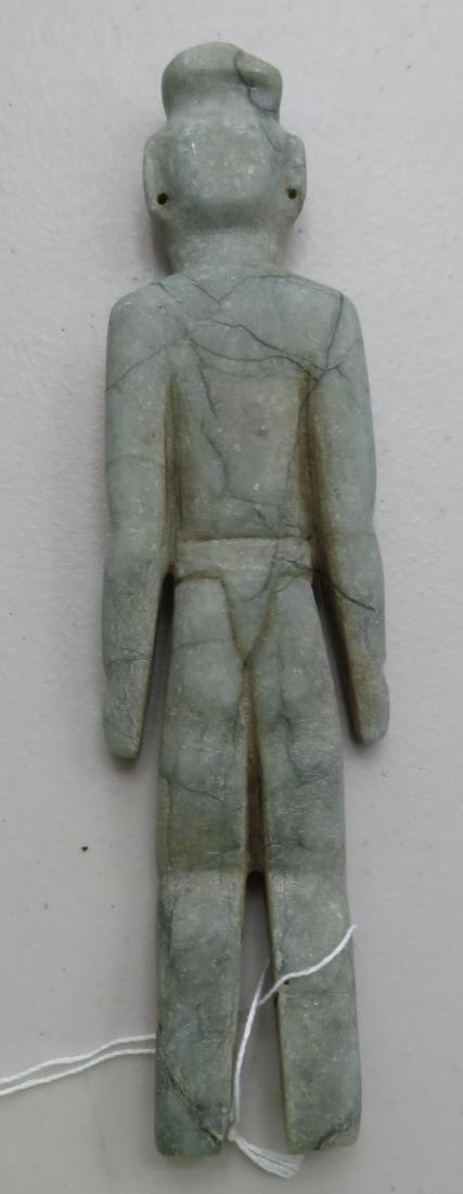 Jade Olmec Human Figure - 9