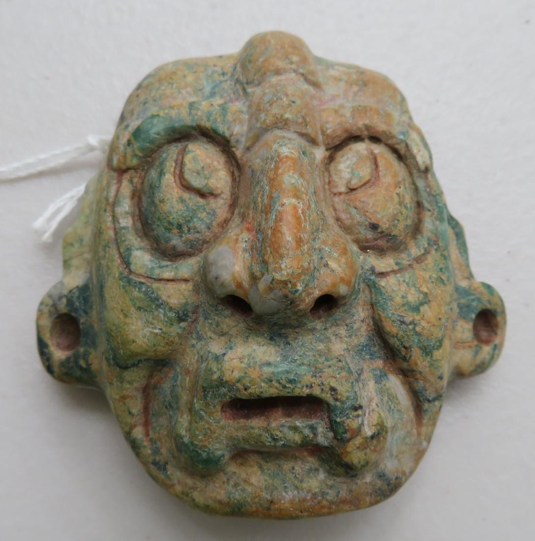 Authentic Mayan Stone Mask