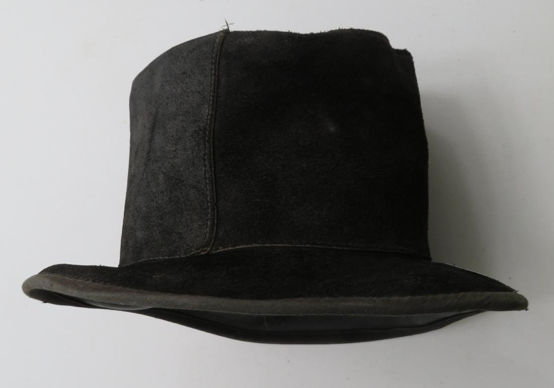 Leather Undertaker's Hat - 10