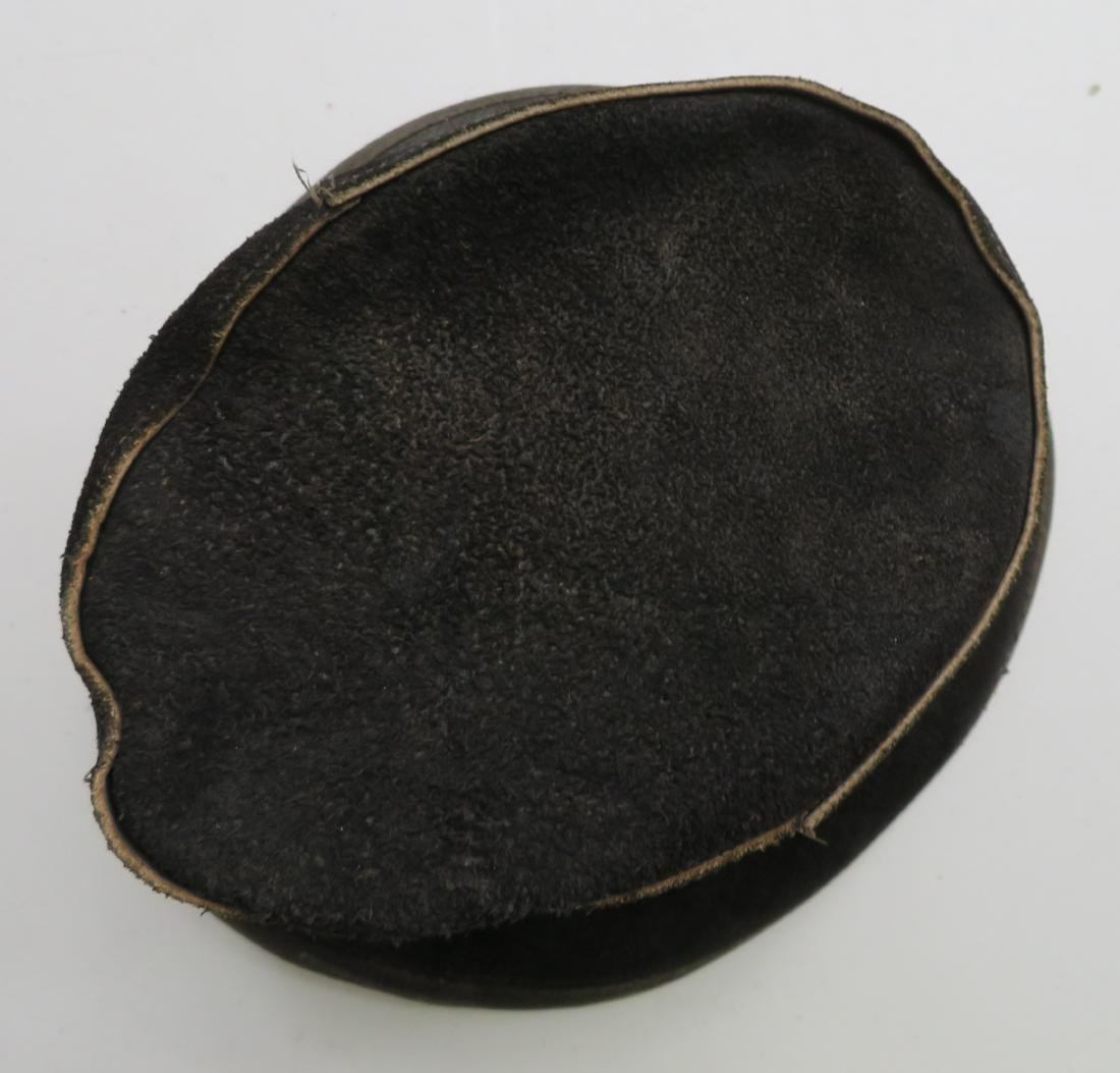 Leather Undertaker's Hat - 2