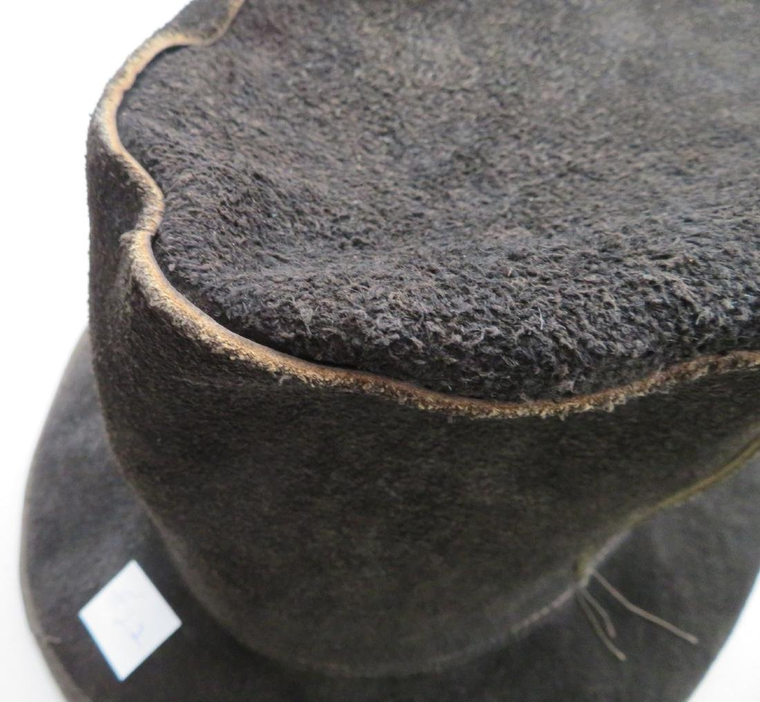 Leather Undertaker's Hat - 3