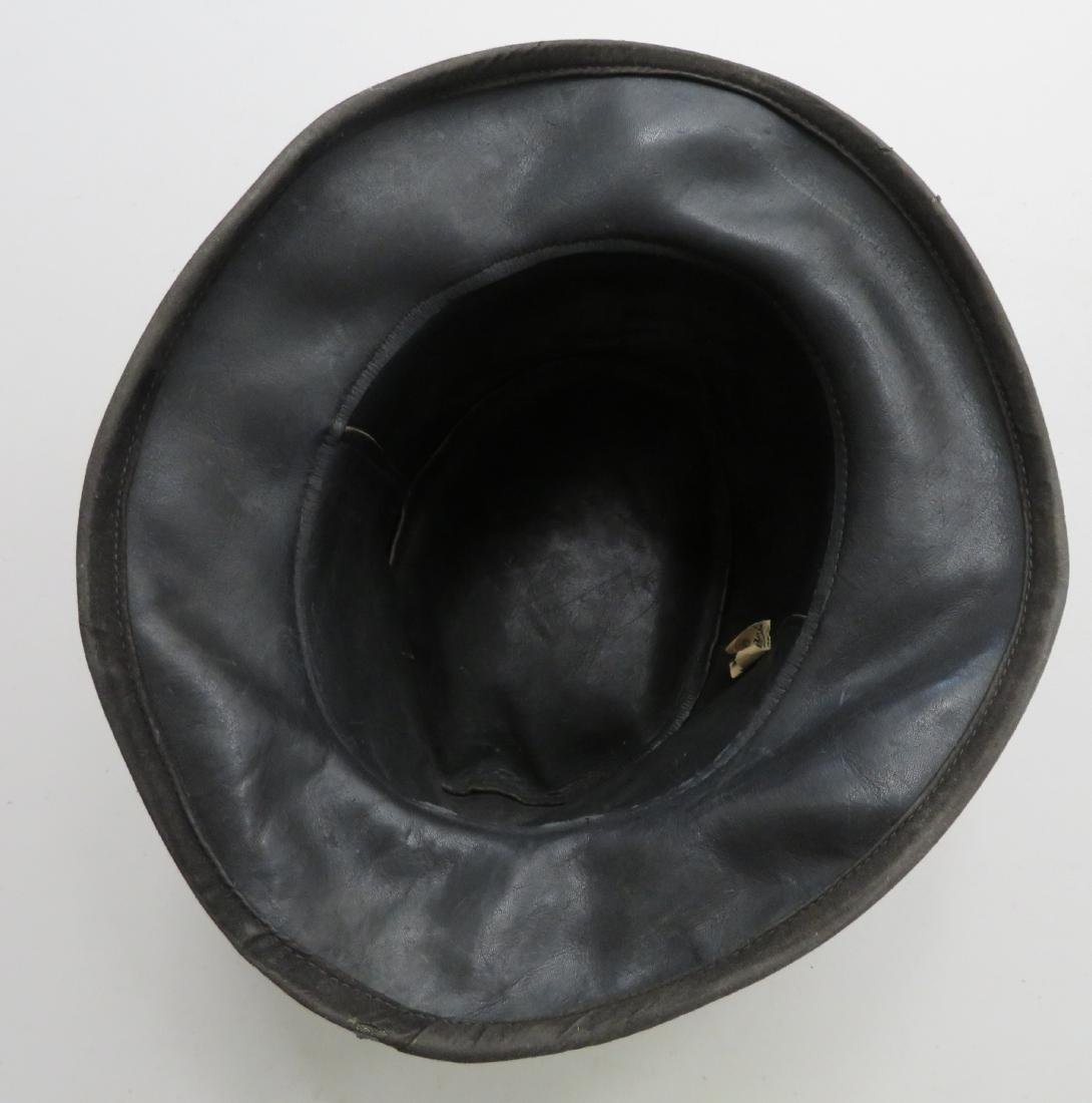 Leather Undertaker's Hat - 7