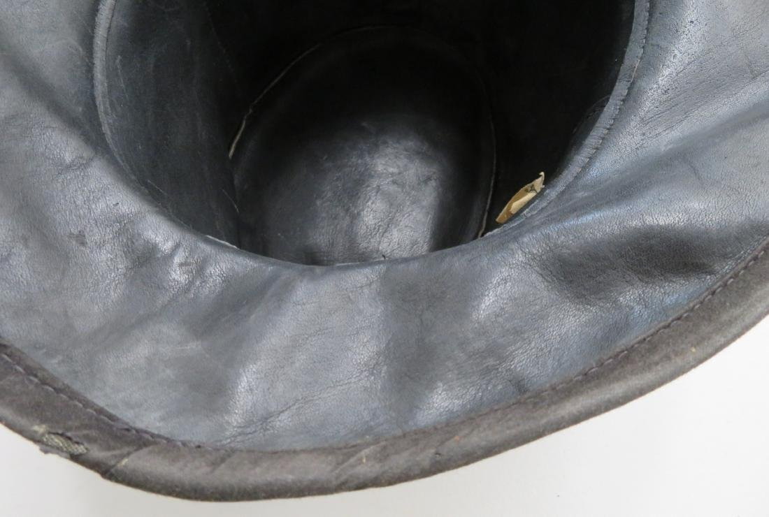 Leather Undertaker's Hat - 8