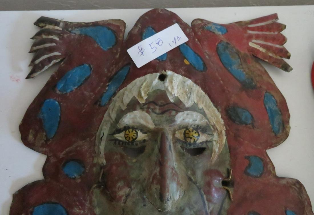 2 Old Mexican Masks - 5