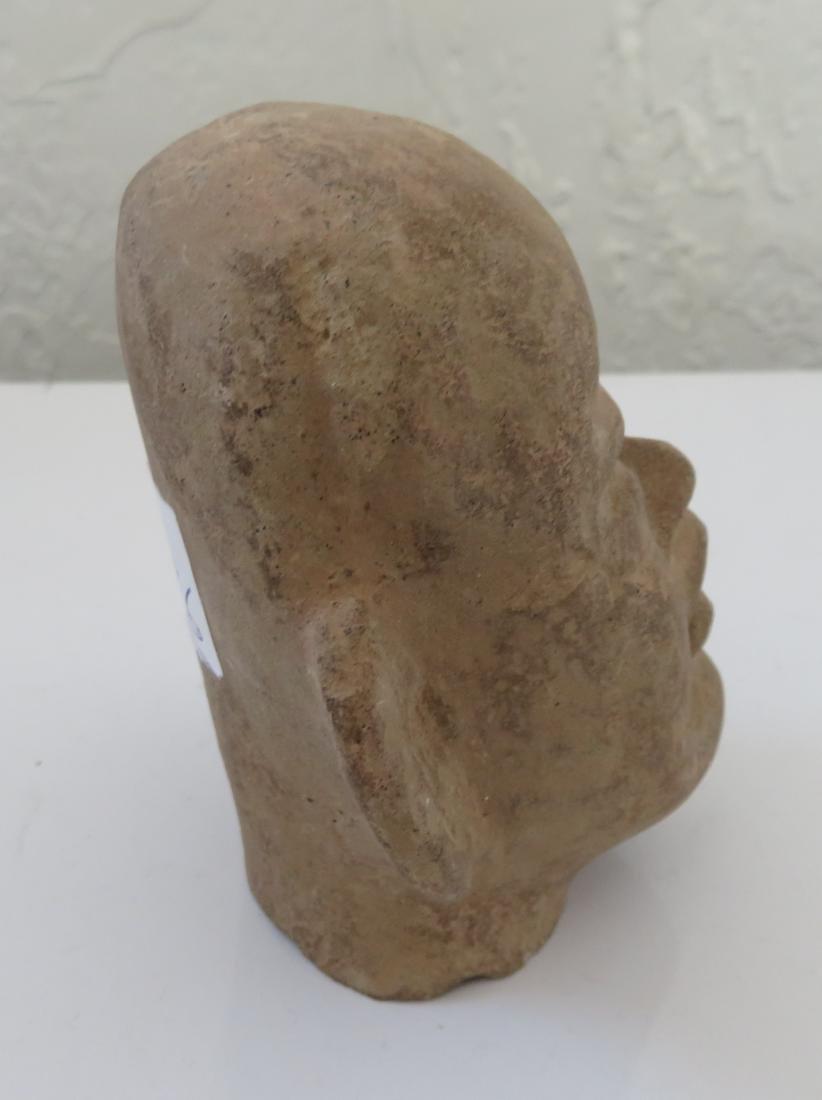 Authentic Olmec Baby Head - 3