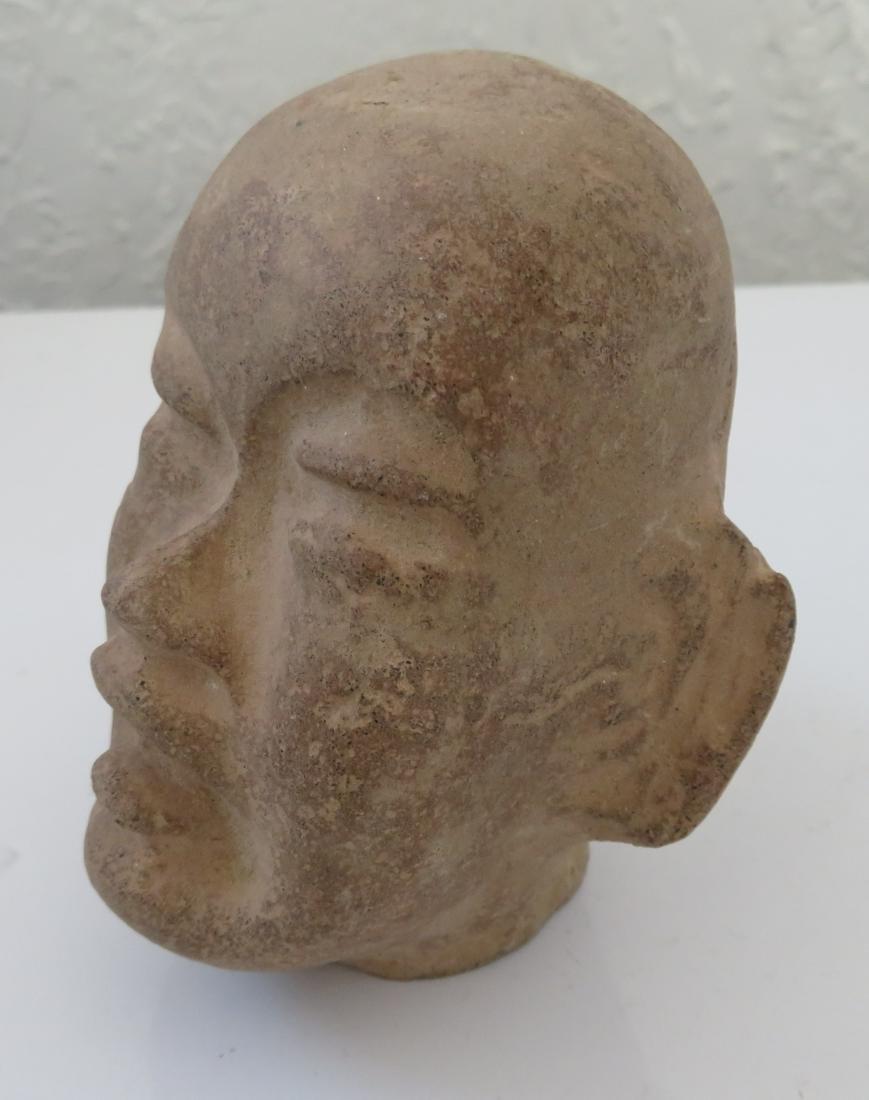 Authentic Olmec Baby Head - 7