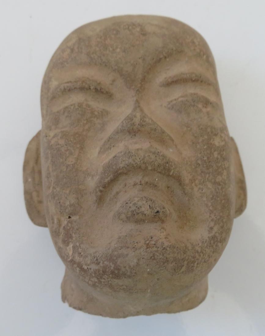 Authentic Olmec Baby Head - 9