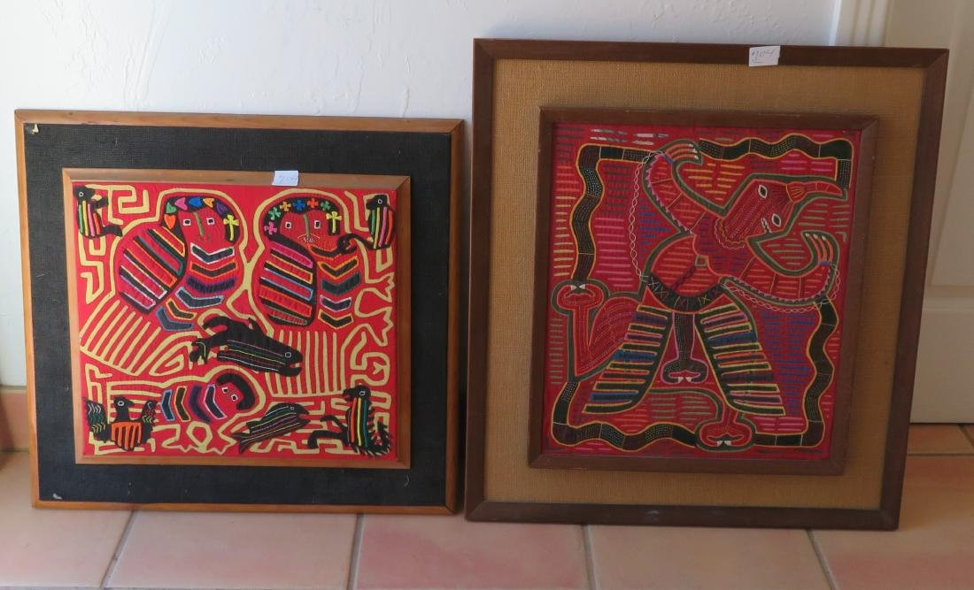 2 Colorful Molas