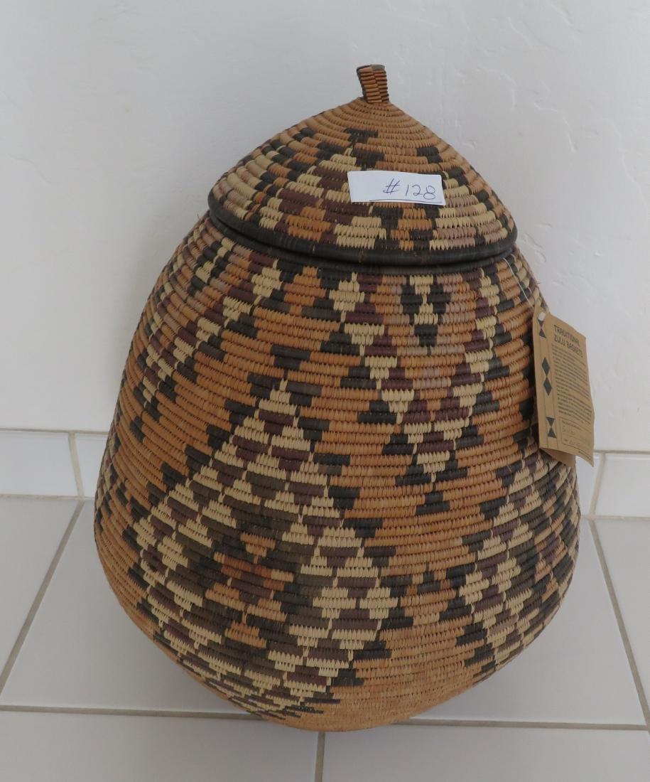 Large Zulu Basket