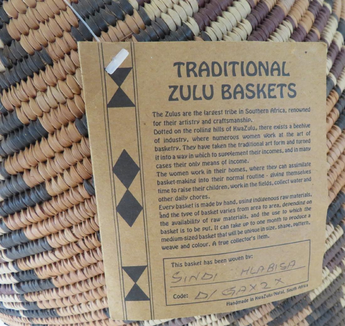 Large Zulu Basket - 4