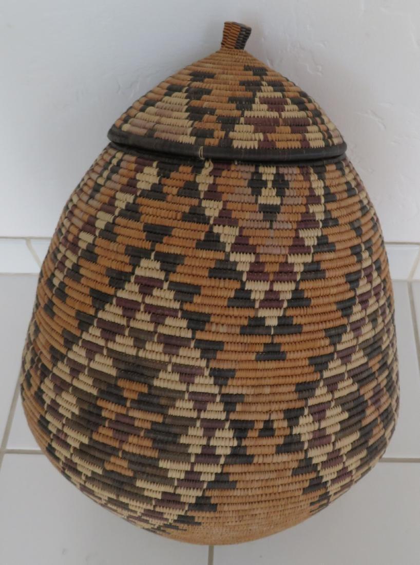 Large Zulu Basket - 9