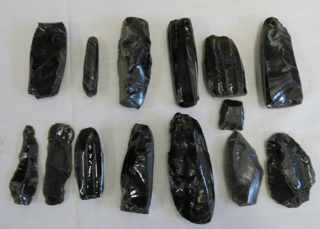 Pre-Columbian Obsidian Core Collection