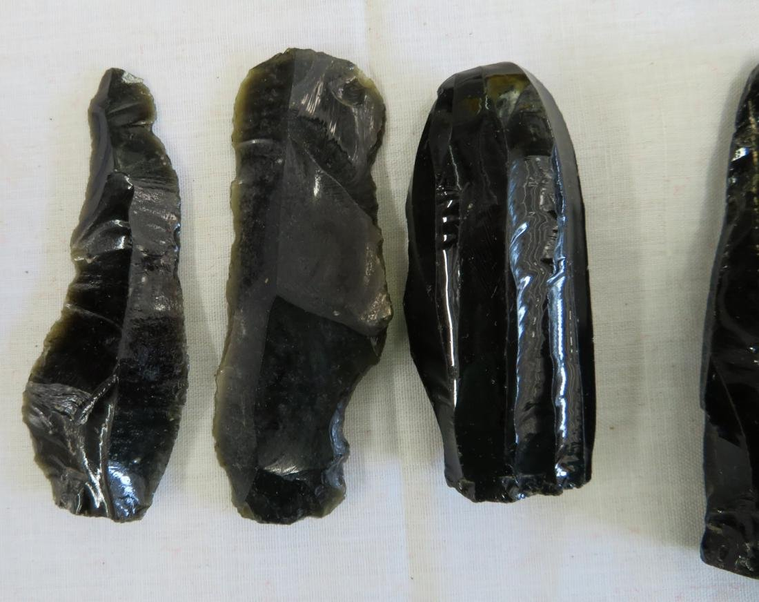 Pre-Columbian Obsidian Core Collection - 2