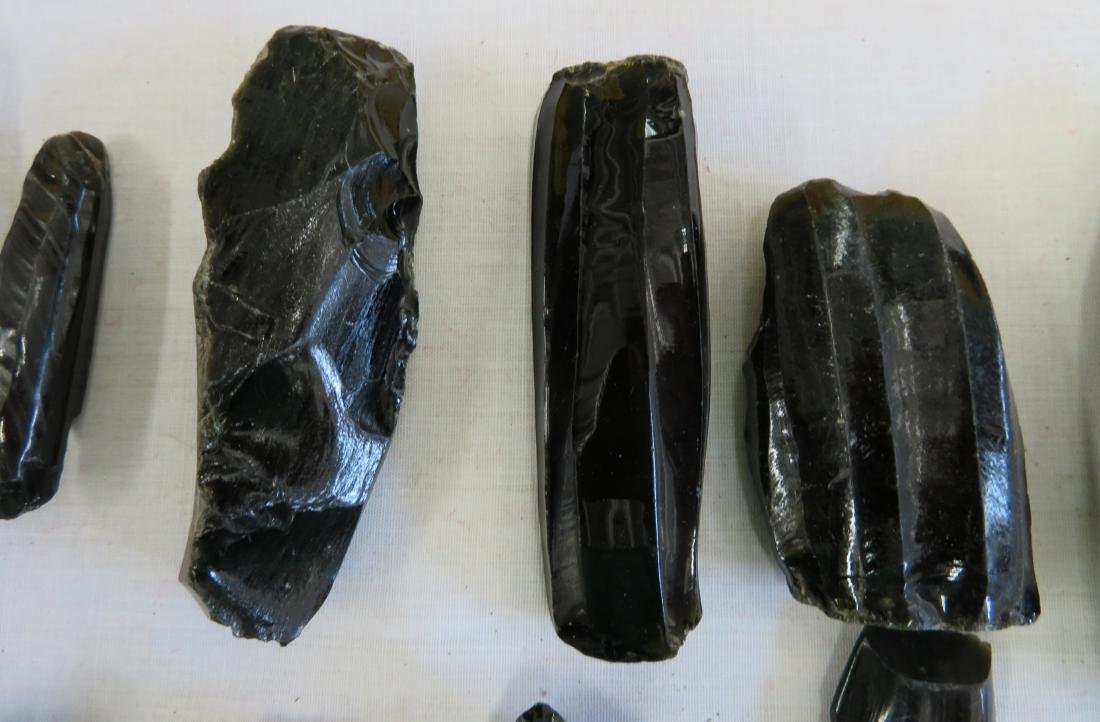 Pre-Columbian Obsidian Core Collection - 7