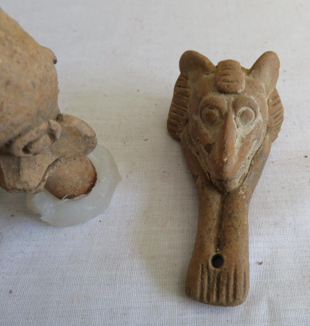 Pre-Columbian Clay Whistle Collection - 4