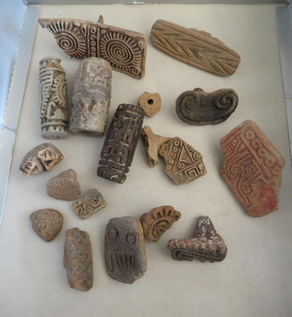 Pre-Columbian Stamp & Seal Collection